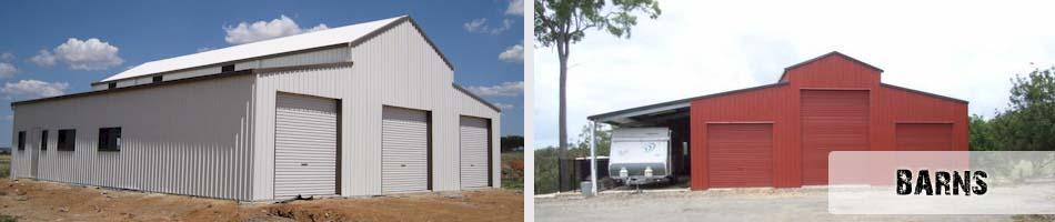 Sheds - Carports - Industrial - Barns